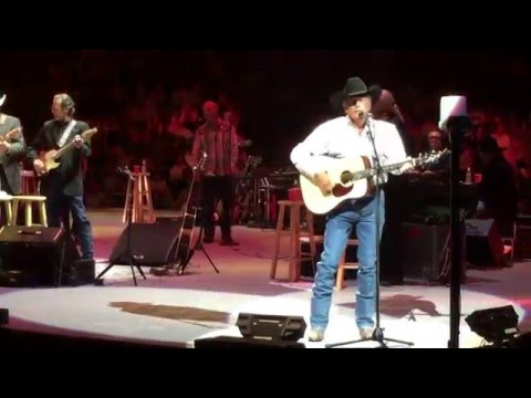 "George Strait Las Vegas April 22,2016  First Show out of Retirement ""Fireman"" and ""Check Yes or No"""