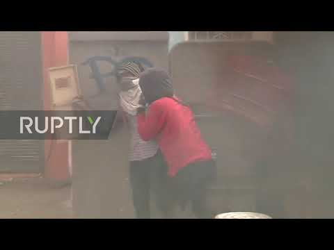 Ecuador: Clashes break out as protesters take to streets of Quito