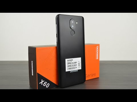 Doogee X60: бюджетный смартфон с отличным дизайном!