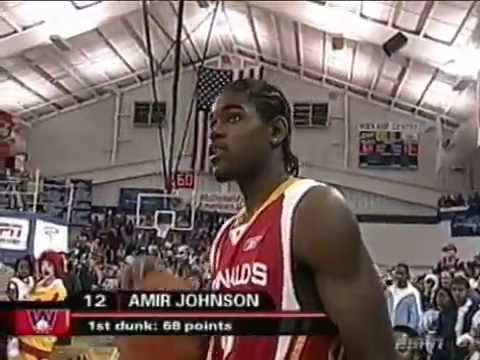 Amir Johnson - 2005 High School Dunk Contest (McDonald's All-American)