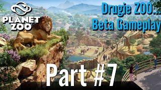 Beta GamePlay - Planet ZOO (Drugie Zoo...) Part #7