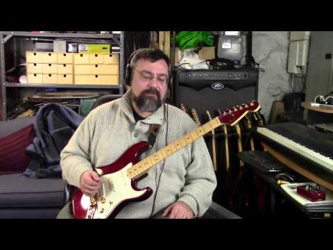 """1982 Fender """"The Strat"""" in Candy Apple Red"""