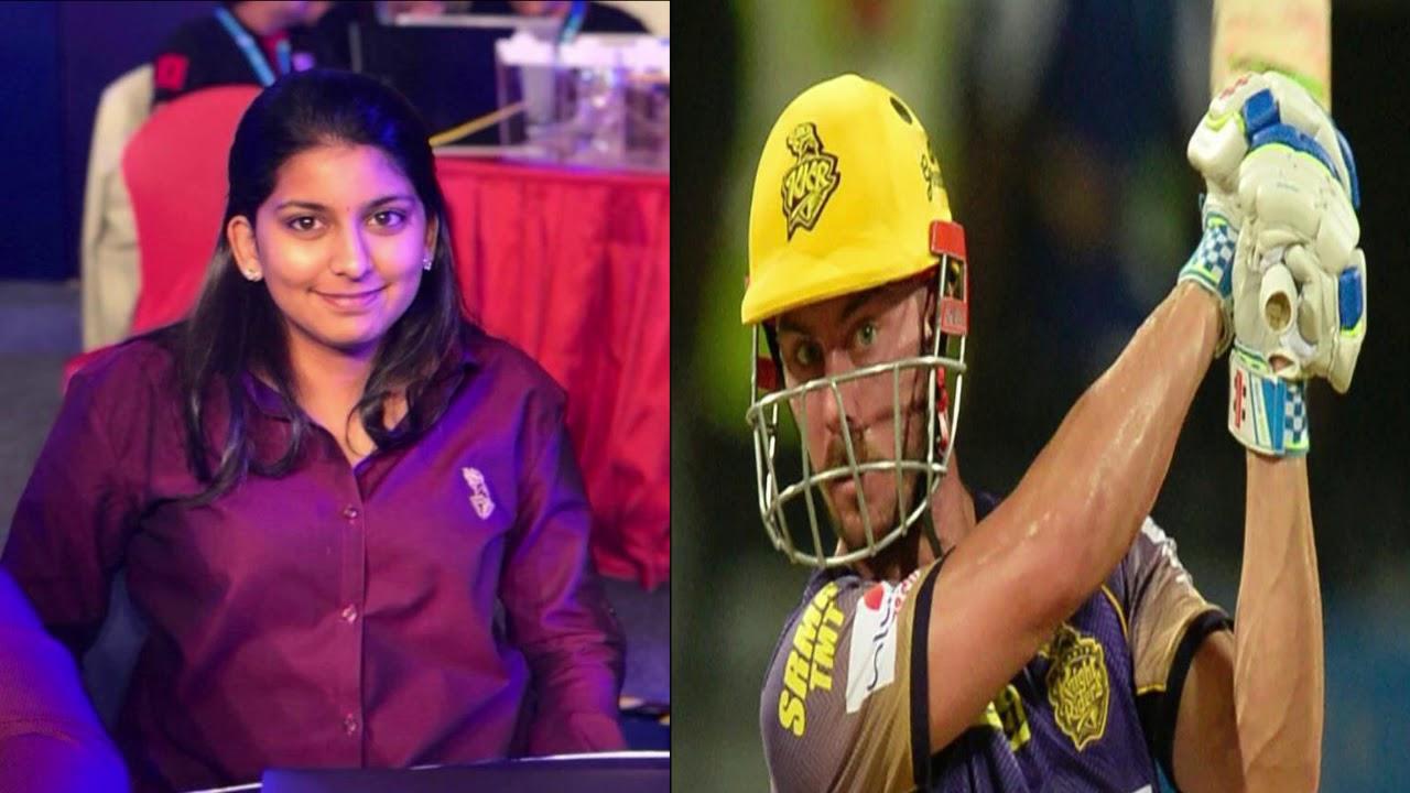 Juhi Chawla Beautiful Daughter Jhanvi Mehta in IPL 2018 auction for KKR