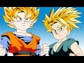 تحول غوتين و ترانكس إلي سوبر ساين و تفاجئ غوهان و فيجيتا - دراغون بول  - Dragon Ball
