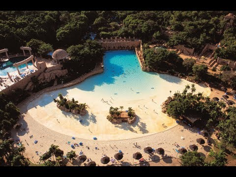 Sun City: Valley of the waves and Temple of courage