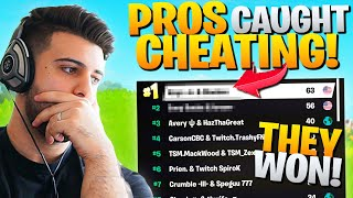 Pros Who WON FNCS Week 1 CAUGHT Cheating!? (My Thoughts) - Fortnite Battle Royale