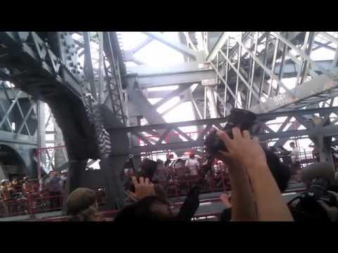 Williamsburg Bridge Acrobats
