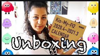 KIS-MY-FT2 CALENDAR 2020-2021 Unboxing (Eng Subs)