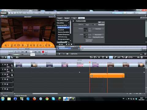 Magix Video deluxe 17 HD Tutorial Videos richtig rendern