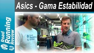 Asics - Gama Estabilidad 2016