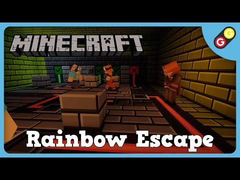 Minecraft   Rainbow Escape