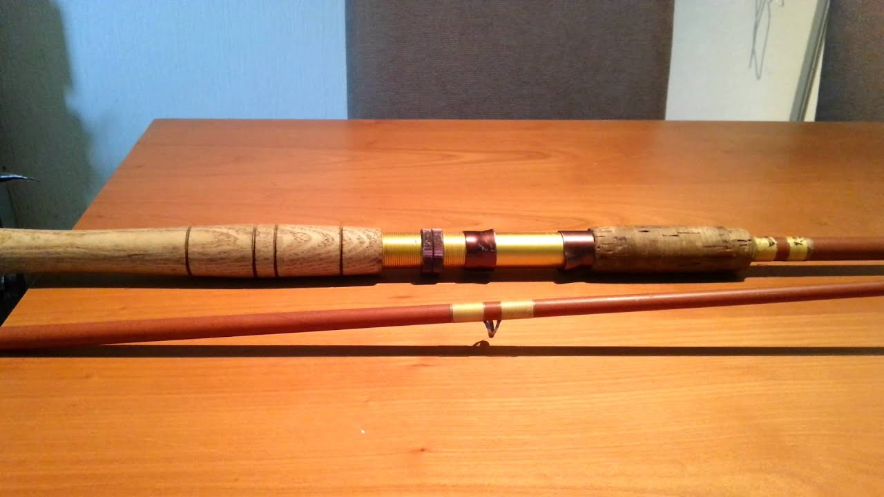 Vintage fishing rod prized possesion youtube for Old fishing rods