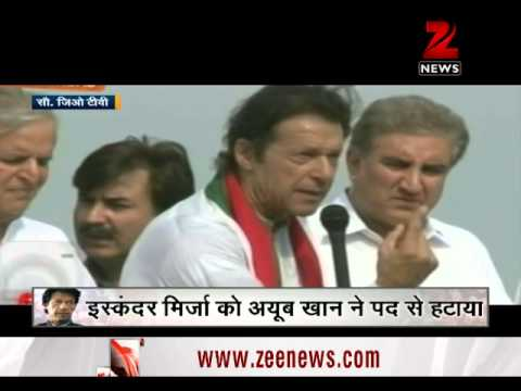 Political revolution in Pakistan: Imran Khan adamant on PM S