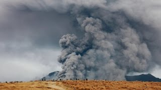 阿蘇山 中岳 噴火 2014.11.26 Eruption of Mount Aso japan