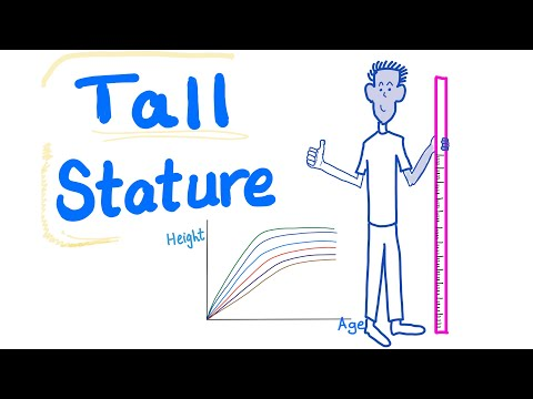 Growth charts: tall stature