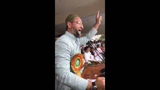 Barrister Asaduddin Awaisi In Thakurganj Kishanganj Bihar