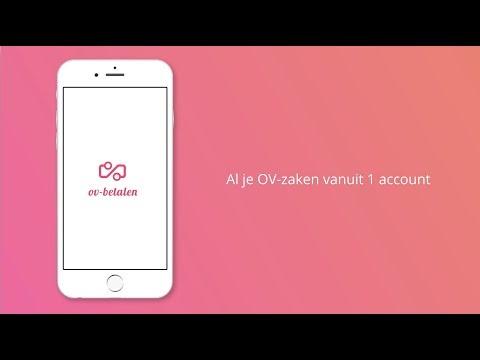 mobiel ov betalen conceptvideo