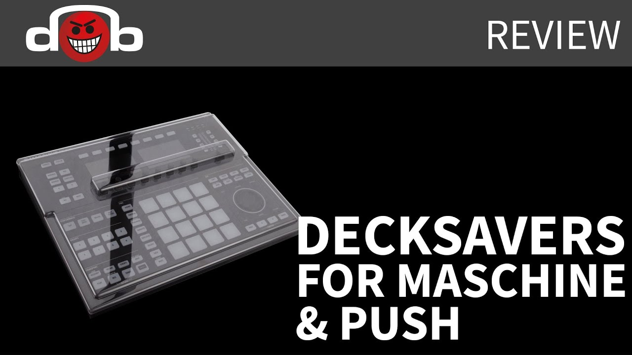 decksaver for maschine studio and ableton push 2 review youtube. Black Bedroom Furniture Sets. Home Design Ideas