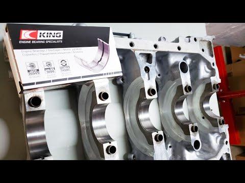 HOW TO: Install KING Main Bearings - K20/k24 Build Part 4