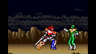 Mighty Morphin Power Rangers - -Defeating The Green Ranger Mission- Vizzed.com GamePlay - User video