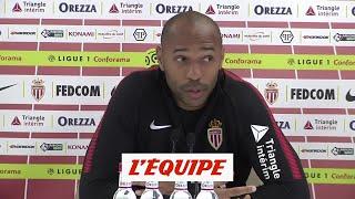 Henry «Le plaisir est toujours là, mais la pression également» - Foot - L1 - Monaco