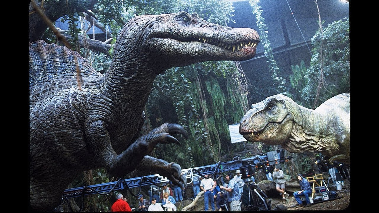 JURASSIC PARK III - Building the Spinosaurus Part 2 ...