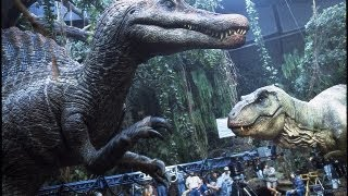 JURASSIC PARK III - Building the Spinosaurus Part 2 - BEHIND-THE-SCENES