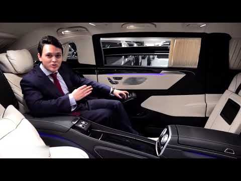 Mercedes Maybach S600 Pullman GUARD   V12 Full Review Interior Exterior Security