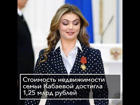 Стоимость недвижимости семьи Кабаевой достигла 1,25 млрд рублей