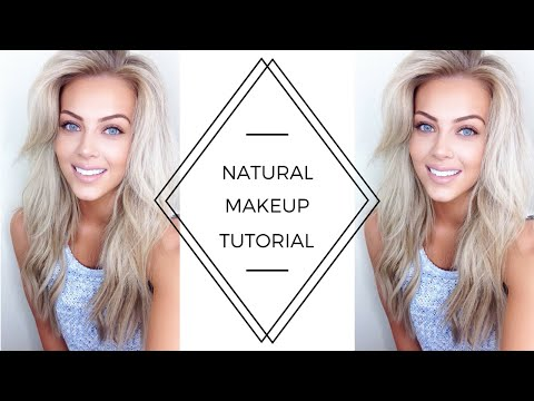 Natural Makeup Tutorial 2018