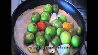 How to Make Roasted Tomatillo Salsa