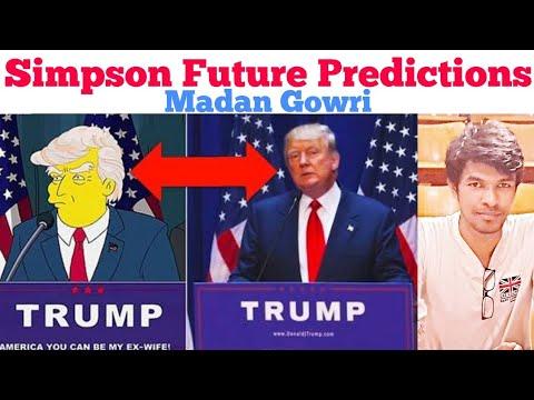 Simpson Future Predictions | Tamil | Madan Gowri | MG
