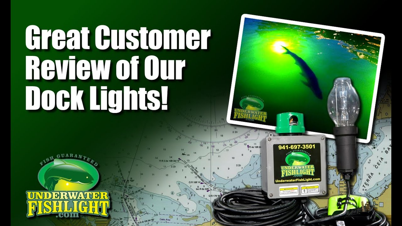 customer review of underwater fish light system - youtube, Reel Combo