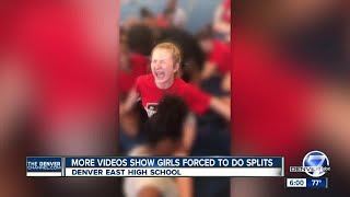 Video shows Denver cheerleaders forced into splits; East High School staff on administrative leave