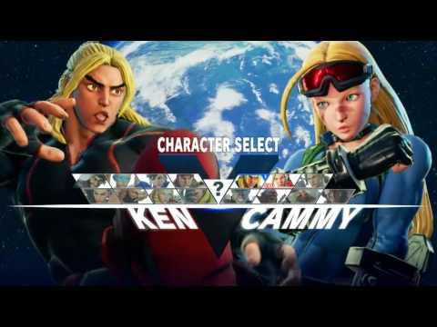 CHARACTER TRAINING: Street Fighter V (Beta #4)
