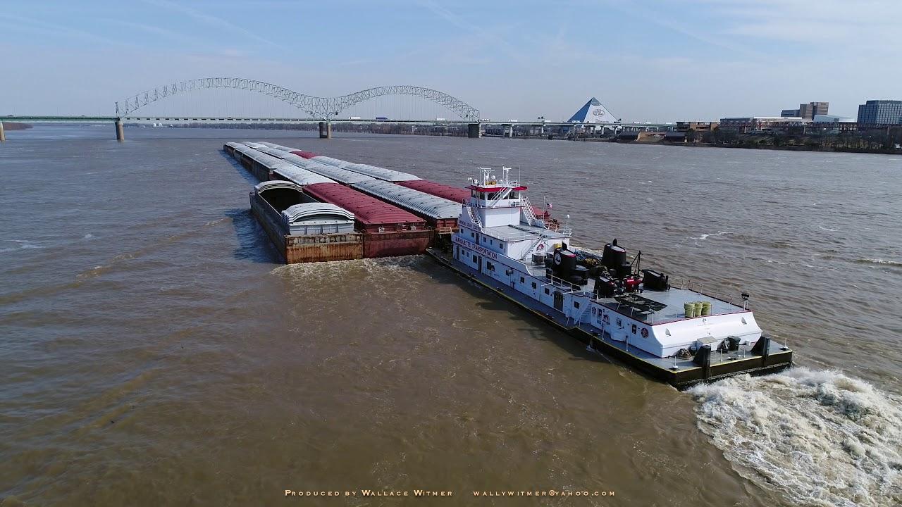Marquette Transportation, Memphis, Mississippi River