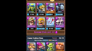 Clash royale best arena 5 6 decks spell valleybuilders for Best builders workshop deck