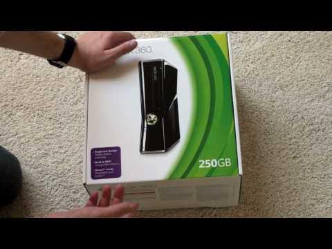 Xbox 360 Slim Unboxing
