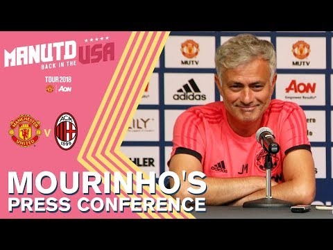 Mourinho's Press Conference | Man Utd v AC Milan | Watch Live on MUTV!