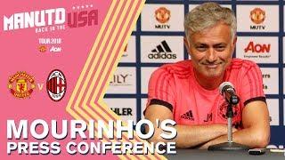 Mourinho's Press Conference | Man Utd v AC Milan | Watch Live on MUTV!