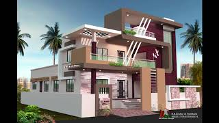 LATEST DOUBLE STORY HOUSE ELEVATIONS