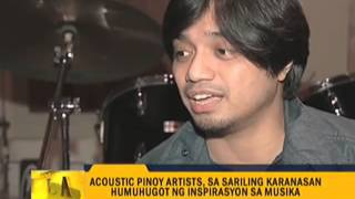 Acoustic artists share inspiration for music
