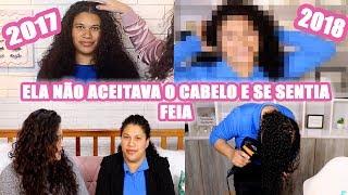 ELA ODIAVA SEUS CACHOS,  LEMBRA? 1 ANO DEPOIS DE #DUDATRANSFORMA
