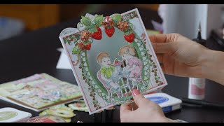 EZ Coloring Tips for Stamped Images using the Berry Cafe Collection