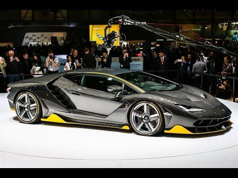 2017 Lamborghini Centenario First Look - 2016 Geneva Motor Show