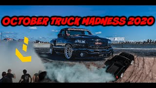 OCTOBER TRUCK MADNESS 2020!! PROJECT TORQUE CREW GETS RUN OVER IN THE BURN OUT PIT!!!
