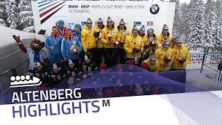 Johannes Lochner's crew play the trump card | IBSF Official