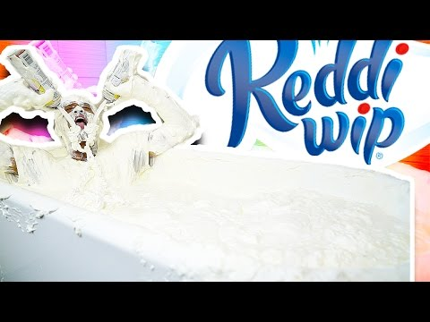 WHIPPED CREAM BATH CHALLENGE!!!