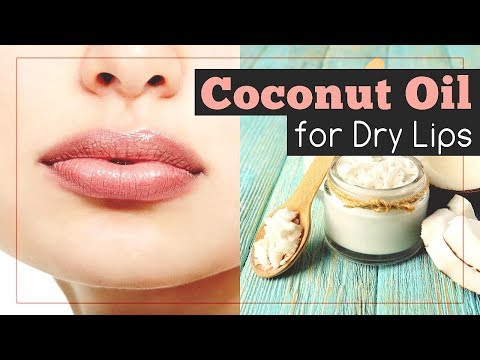 Coconut Oil For Lips: 7 Recipes For Dry And Chapped Lips