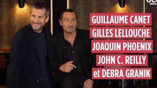 GUILLAUME CANET, GILLES LELLOUCHE, JOAQUIN PHOENIX, JOHN C.REILLY et DEBRA GRANIK